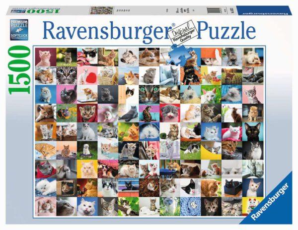 99 katten, puzzel 1500 stukjes