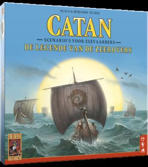Catan: De legende van de zeerovers