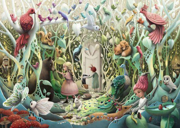 De geheime tuin, puzzel 1000 stukjes 2