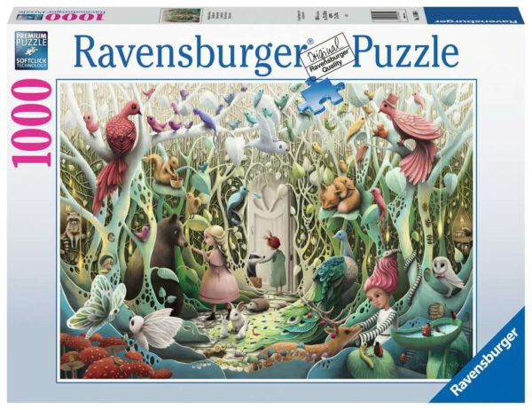De geheime tuin, puzzel 1000 stukjes