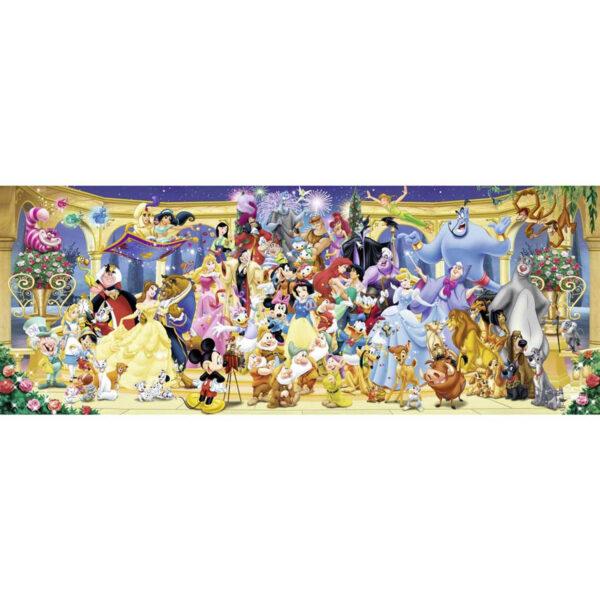 Disney groepsfoto panorama , puzzel 1000 stukjes 2