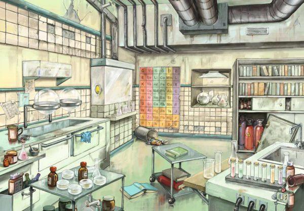 Escape Puzzle Chemistry Lab 2