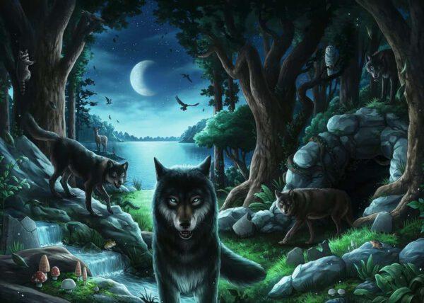 Escape Puzzle Curse of the Wolves 2