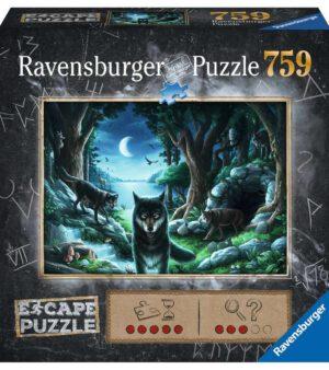 Escape Puzzle Curse of the Wolves