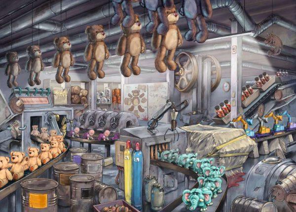 Escape Puzzle - Toy Factory 2
