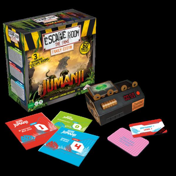 Escape Room The Game - Jumanji Familie Editie 2