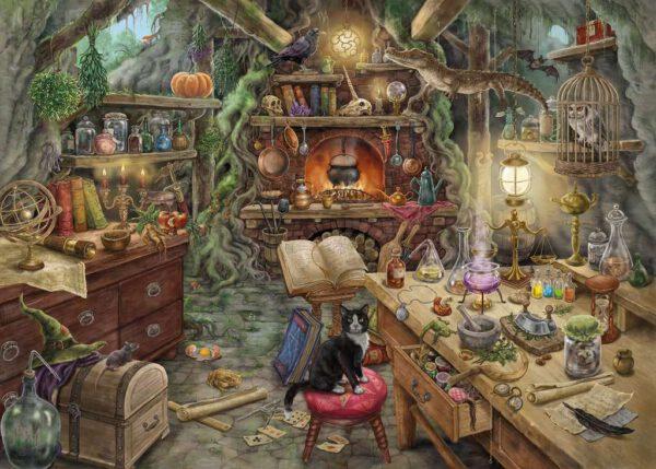 Escape puzzle - De heksenkeuken 2