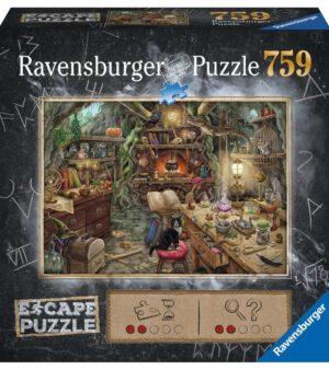 Escape puzzle - De heksenkeuken