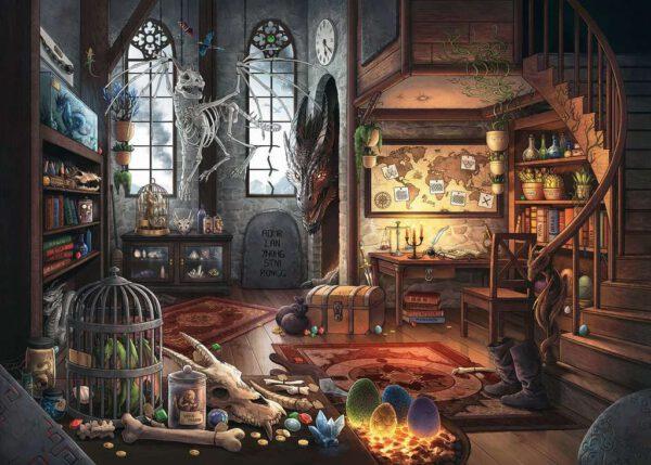 Escape puzzle Draken laboratorium 2