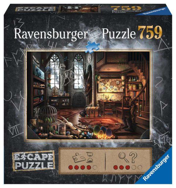 Escape puzzle Draken laboratorium