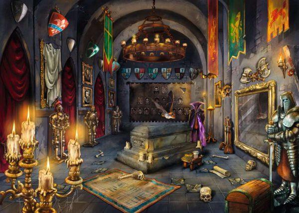 Escape puzzle Kasteel van de vampier 2