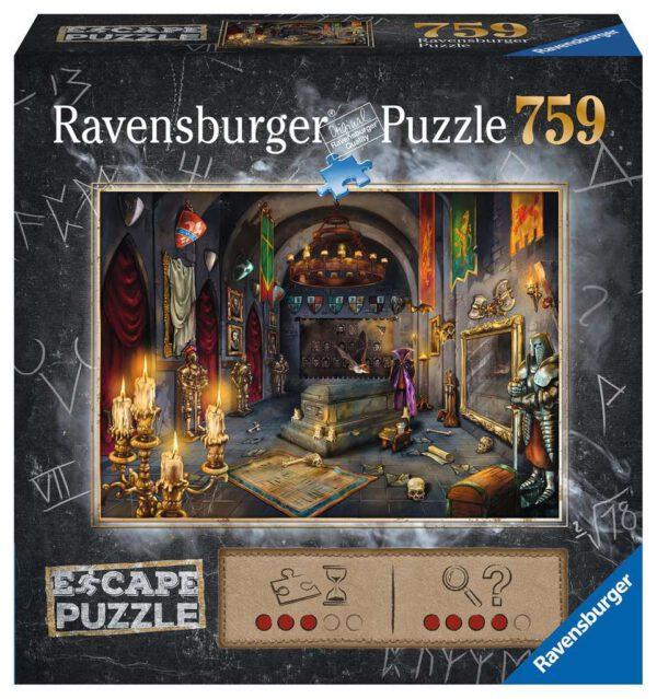 Escape puzzle Kasteel van de vampier