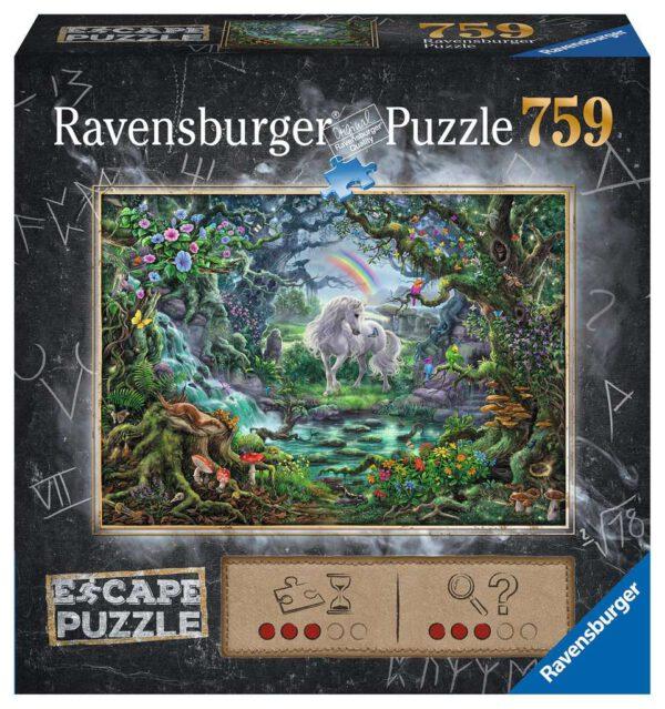 Escape puzzle - Unicorn