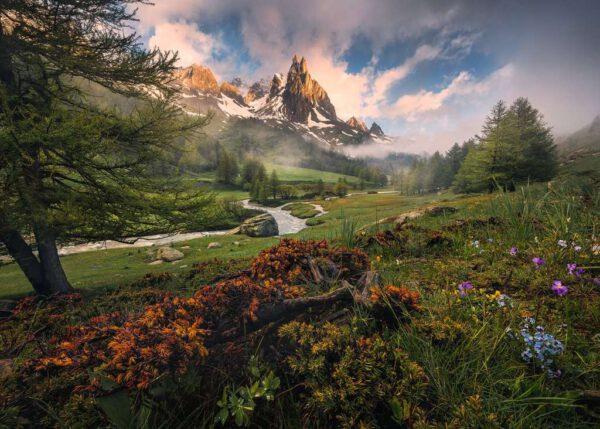Franse Alpen, puzzel 1000 stukjes 2