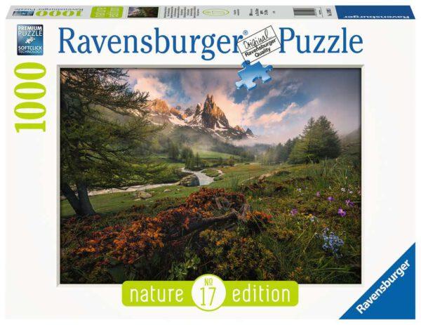 Franse Alpen, puzzel 1000 stukjes