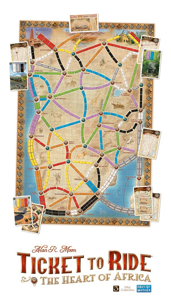 Ticket To Ride - Africa 2