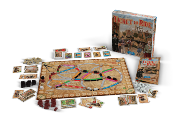 Ticket to Ride Amsterdam 2