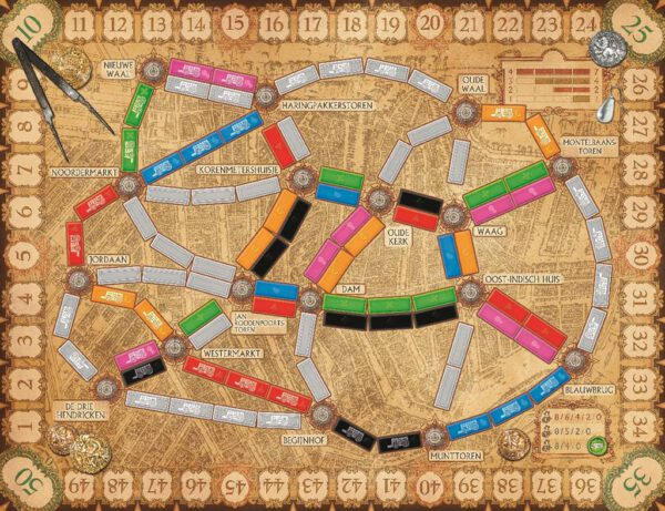 Ticket to Ride Amsterdam 3
