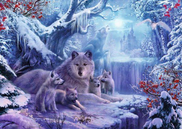 Wolven in de Winter 2