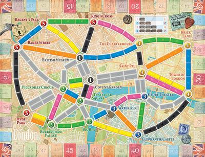 Ticket to ride London 2