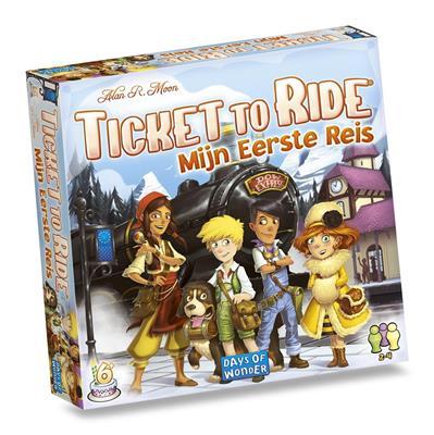 Ticket to ride- Mijn eerste reis
