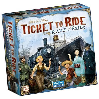 Ticket to ride- Rails & Sails