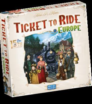 Ticket To Ride Europa Anniversary 1