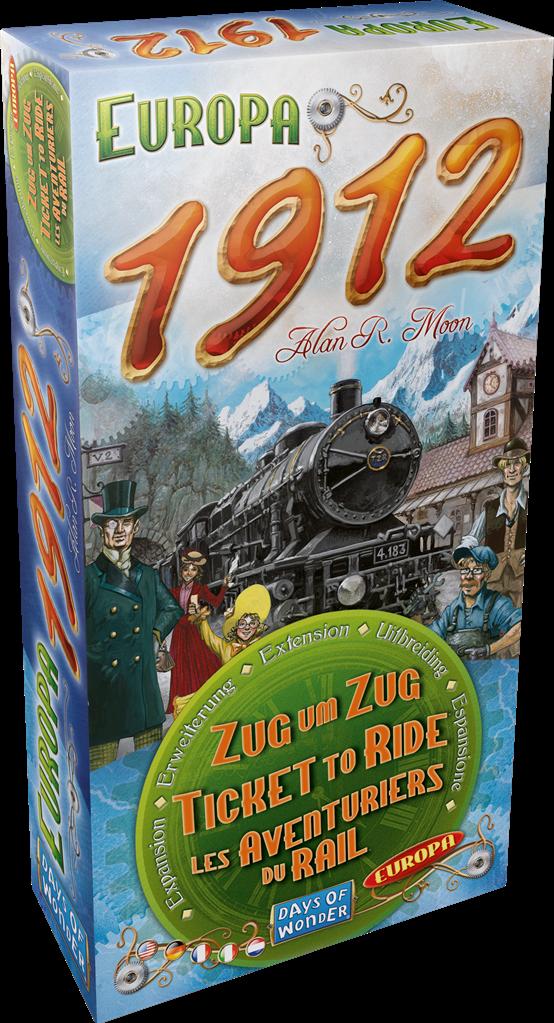 Ticket to Ride - Europa 1912 - Multilingual 1