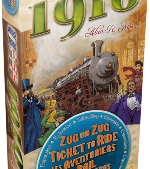 Ticket to Ride - USA 1910 Expansion 2